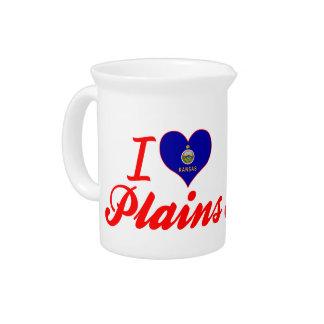 I Love Plains, Kansas Pitcher