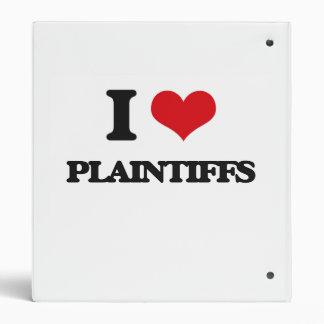 I Love Plaintiffs Binders