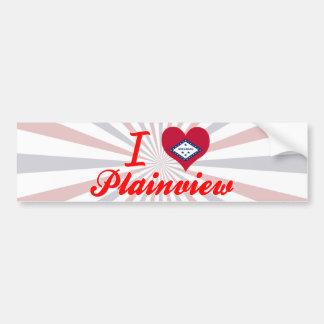I Love Plainview, Arkansas Bumper Sticker
