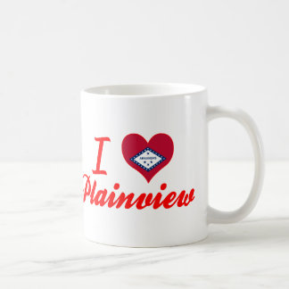 I Love Plainview, Arkansas Coffee Mugs