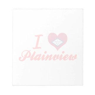 I Love Plainview, Arkansas Notepads