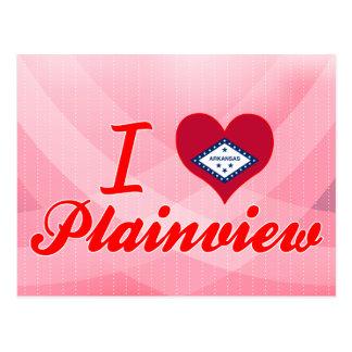 I Love Plainview, Arkansas Post Card