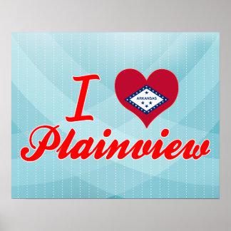 I Love Plainview, Arkansas Print