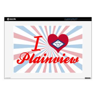 I Love Plainview, Arkansas Laptop Skin