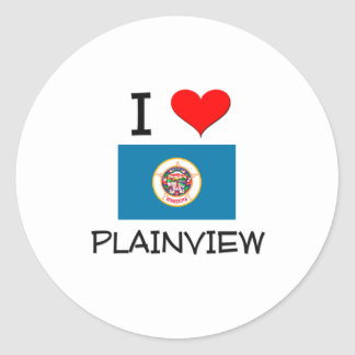I Love Plainview Minnesota Sticker