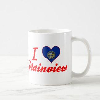 I Love Plainview, Nebraska Classic White Coffee Mug