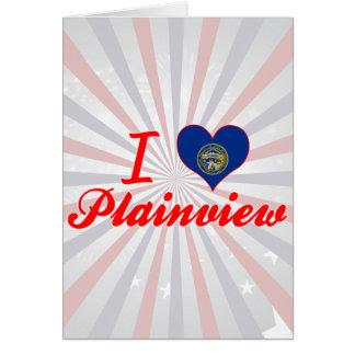 I Love Plainview, Nebraska Greeting Card