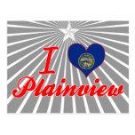 I Love Plainview, Nebraska Post Card