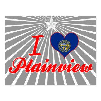 I Love Plainview, Nebraska Postcard
