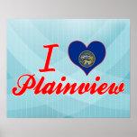 I Love Plainview, Nebraska Print