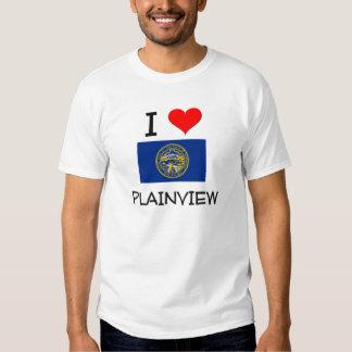 I Love Plainview Nebraska Shirts