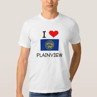 I Love Plainview Nebraska T-shirts
