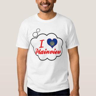 I Love Plainview, Nebraska Tee Shirts