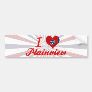 I Love Plainview, Tennessee Bumper Sticker