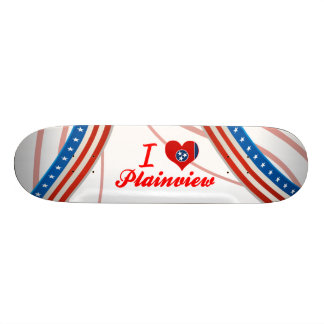 I Love Plainview, Tennessee Skate Board Decks