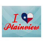 I Love Plainview, Texas Poster