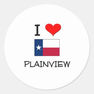 I Love Plainview Texas Sticker