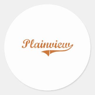 I Love Plainview Texas Round Sticker