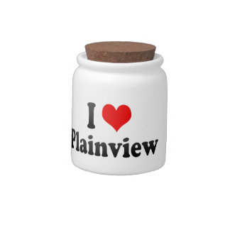 I Love Plainview, United States Candy Dish