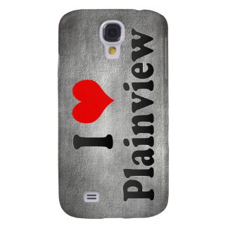 I Love Plainview, United States Samsung Galaxy S4 Case