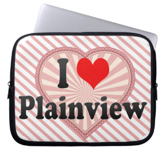 I Love Plainview, United States Computer Sleeve