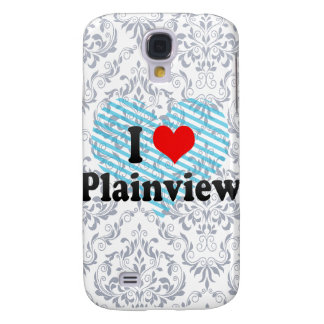I Love Plainview, United States Galaxy S4 Case