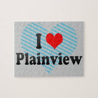 I Love Plainview, United States Jigsaw Puzzle