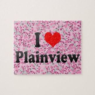 I Love Plainview, United States Jigsaw Puzzles