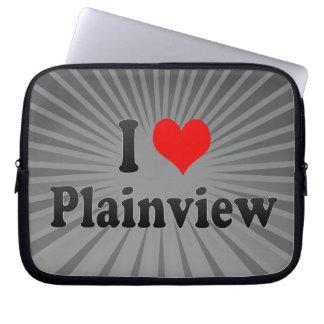 I Love Plainview, United States Laptop Sleeve