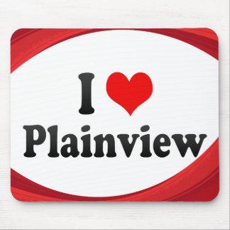 I Love Plainview, United States Mouse Pad