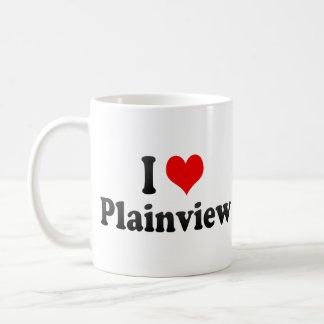 I Love Plainview, United States Classic White Coffee Mug