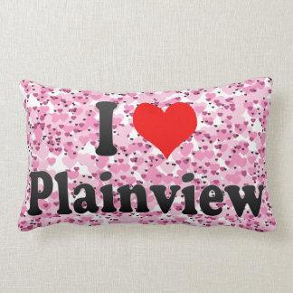 I Love Plainview, United States Pillow