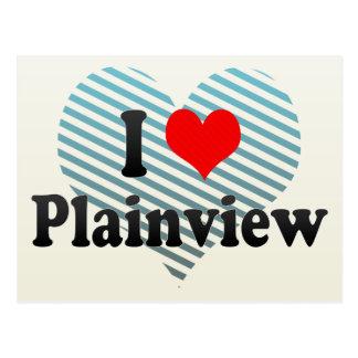 I Love Plainview, United States Postcard