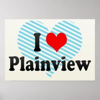 I Love Plainview, United States Poster