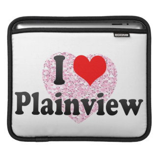 I Love Plainview, United States Sleeve For iPads