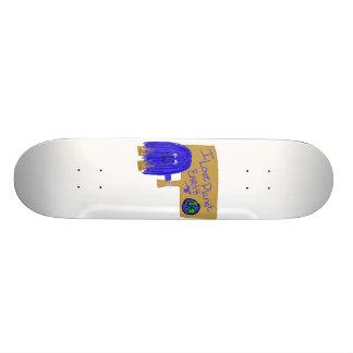 I love planet earth skateboard deck