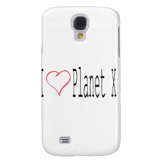 I Love Planet X Samsung Galaxy S4 Cover