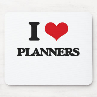 I Love Planners Mousepad