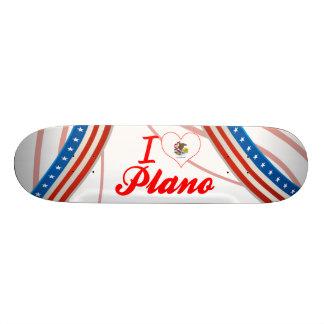 I Love Plano, Illinois Skateboards