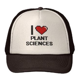 I Love Plant Sciences Digital Design Trucker Hat
