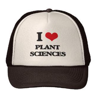 I Love Plant Sciences Trucker Hat