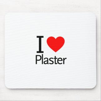 I Love Plaster Mousepads
