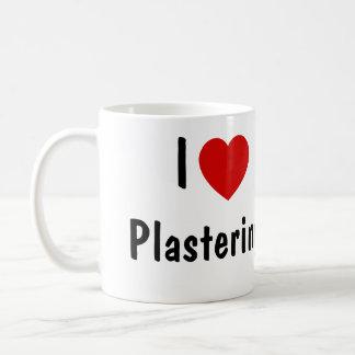 I Love Plastering Coffee Mug