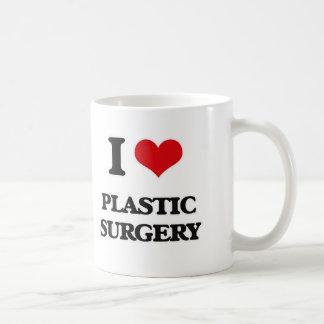 I Love Plastic Surgery Coffee Mug