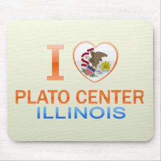 I Love Plato Center, IL Mouse Pad