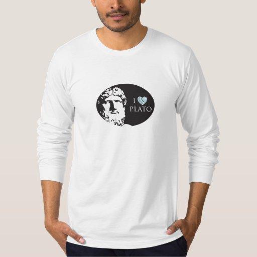 I Love Plato Men's Tshirt
