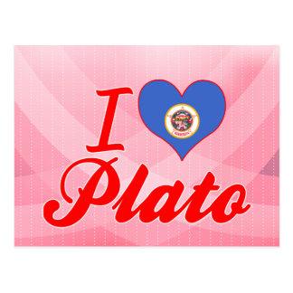 I Love Plato, Minnesota Post Cards