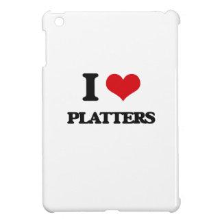 I Love Platters iPad Mini Covers