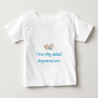 """I love play dates"" Shirt - Boy"