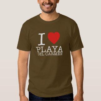 I love Playa del Carmen Poleras